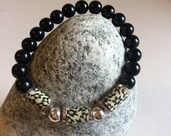Yoga Beaded Stackable Stretch Bracelets