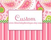 Custom Order for Stephanie C.