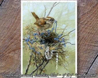 Wildlife Print - Wren Print - Carolina Wren Print - Bird Prints - Wild Bird Print - Wren Image