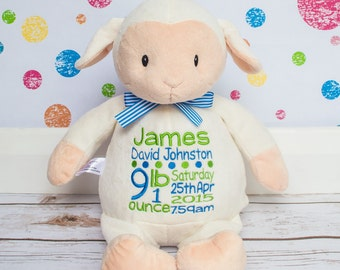 Personalised Soft Lamb