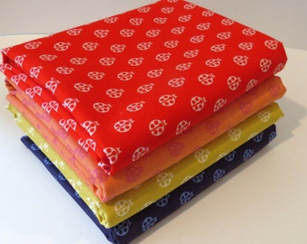 Lady Bugs from True Colors by Tula Pink for freespirit
