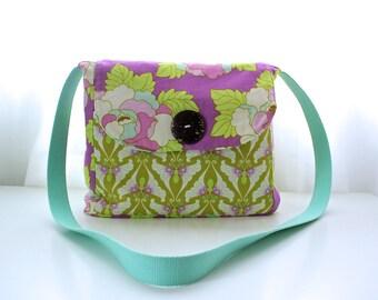 Messenger Bag; cross body bag; cotton and canvas bag
