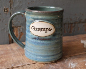 Custom Name Mug, personalized, green, blue, gift, present, Made To Order