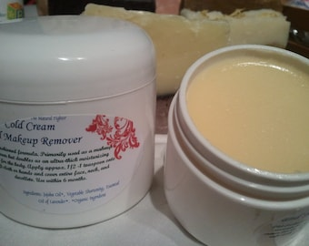 Cold Cream & Makeup Remover