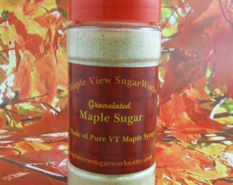 NEW : 3 oz Granulated Maple Sugar