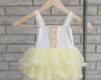 Lemon Cake Dress