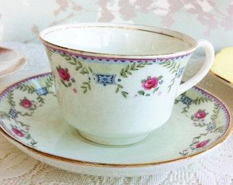 Early Vintage  Aynsley Tea Duo