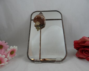 Vintage Seashell Mirror - cute Beach Decor item