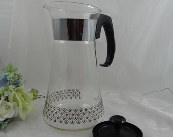 Pyrex Clear Coffee Pot - Vintage Pyrex - Vintage Pyrex Coffee Pot - Pyrex Coffee Carafe - Pyrex Carafe