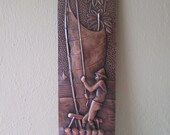 Copper wall hanging - Brasil