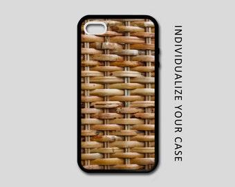 Basket Weave iPhone Case, Weave iPhone Case, Basket iPhone 6 Case, iPhone 6s Case, iPhone 5s Case, Phone Case, Edge Case, SE Case New