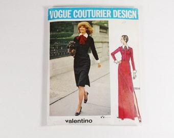 Vogue Couturier Valentino Dress Pattern Size 12