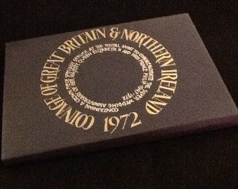 1972 Royal Mint Coinage of Great Britain & N. Ireland - Silver Wedding Anniversary