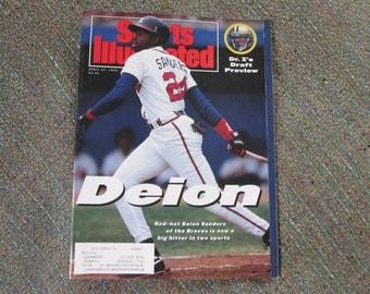 Deion Sanders Sports Illustrated featuring Deion Sanders April 27, 1992