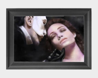 Phantom of the Opera INSTANT DOWNLOAD, musical, broadway decor, movie scenes artwork - Download