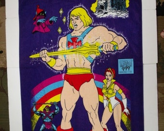 Masters of the Universe Beach towel-1980's