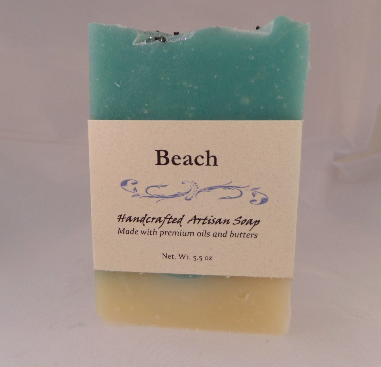Beach scented soap coconut milk babassu avocado oil natural for Bobbi brown beach soap