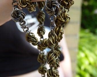 Bronze Chainmail Rosary