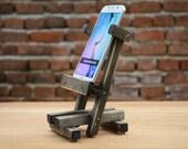 Samsung Galaxy S6 stand Wooden holder Samsung docking station