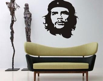 CHE GUEVARA PORTRAIT - Wall Art Sticker