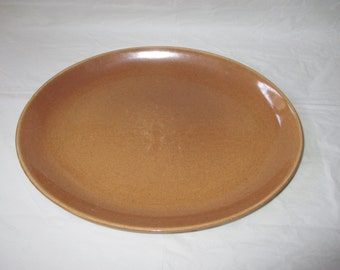 """Vintage Russel Wright Iroquois Casual China APRICOT 12-5/8"""" Oval Platter"""