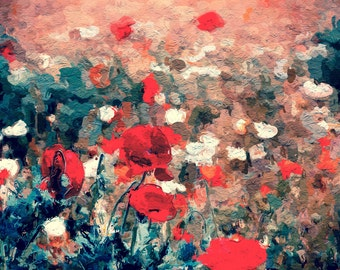 Poppy Fields Print 8 x 10