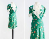 40s Atwood Dress  •  1940s inspired dress