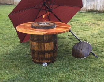 Fire/ umbrella Table