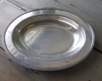 Silverplate Vintage Serving Dish Windsor William Rodgers
