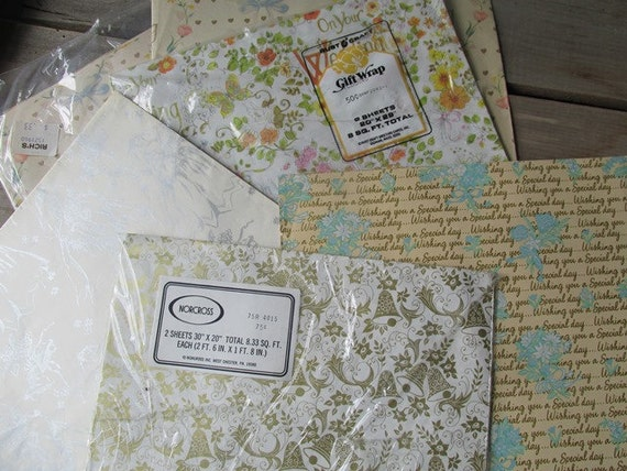 Wedding Gift Paper: Gift Wrapping Paper Vintage Wedding Gift Wrap