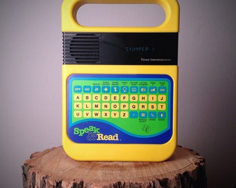 Vintage Speak and Read by Texas Instruments Educational Electronic Toy from the 1980s