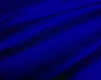 "Cobalt dupioni silk - 54"" wide"