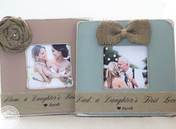 Wedding Gift For Parents Etsy : Wedding Gifts for Parents Thank You Gift Personalized Picture Frame ...