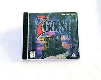 Sealed/Unopened ~ The 7th Guest ~ Retro PC Computer Game (Windows 95/98)
