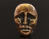 Mask Bronze Pendant Findings 2511(1) Theater Venice Masks