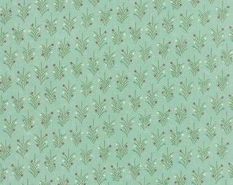 Very Merry by Sandy Gervais for Moda 17833 15  Trees, Lt. Aqua