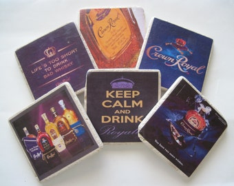 Crown Royal coasters - ALL 6