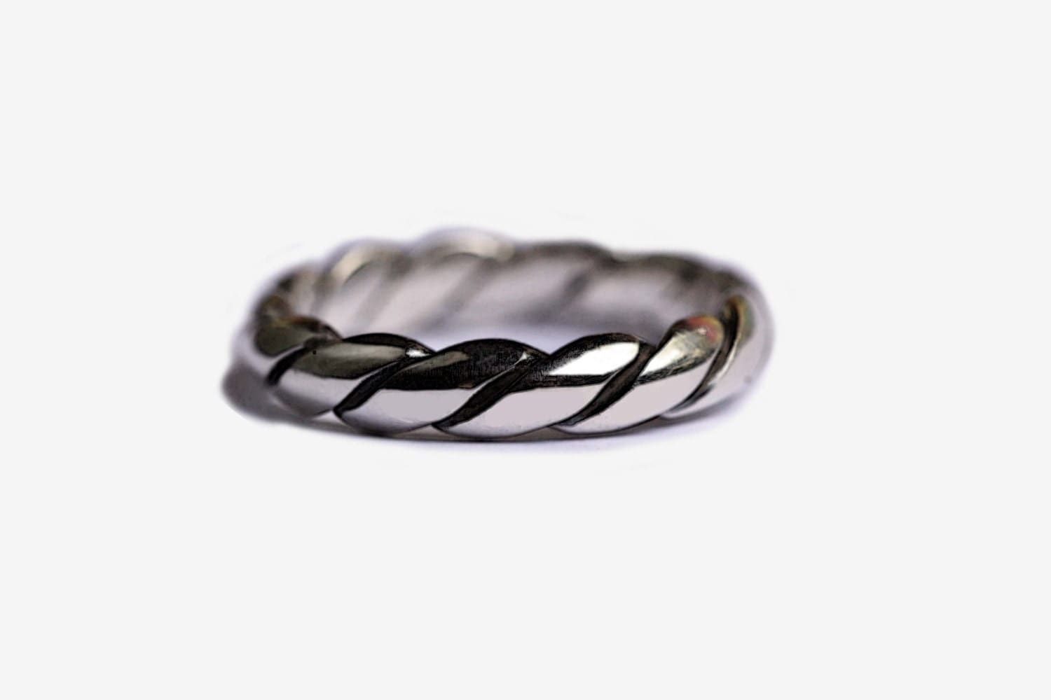 simple ring band 925 sterling silver ring simple wedding