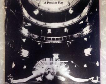 "Jethro Tull, ""A Passion Play"", Vinyl LP Chrysalis Records, includes ""program"""