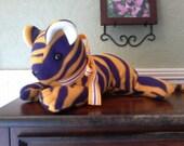 LSU Stuffed Fleece Tiger