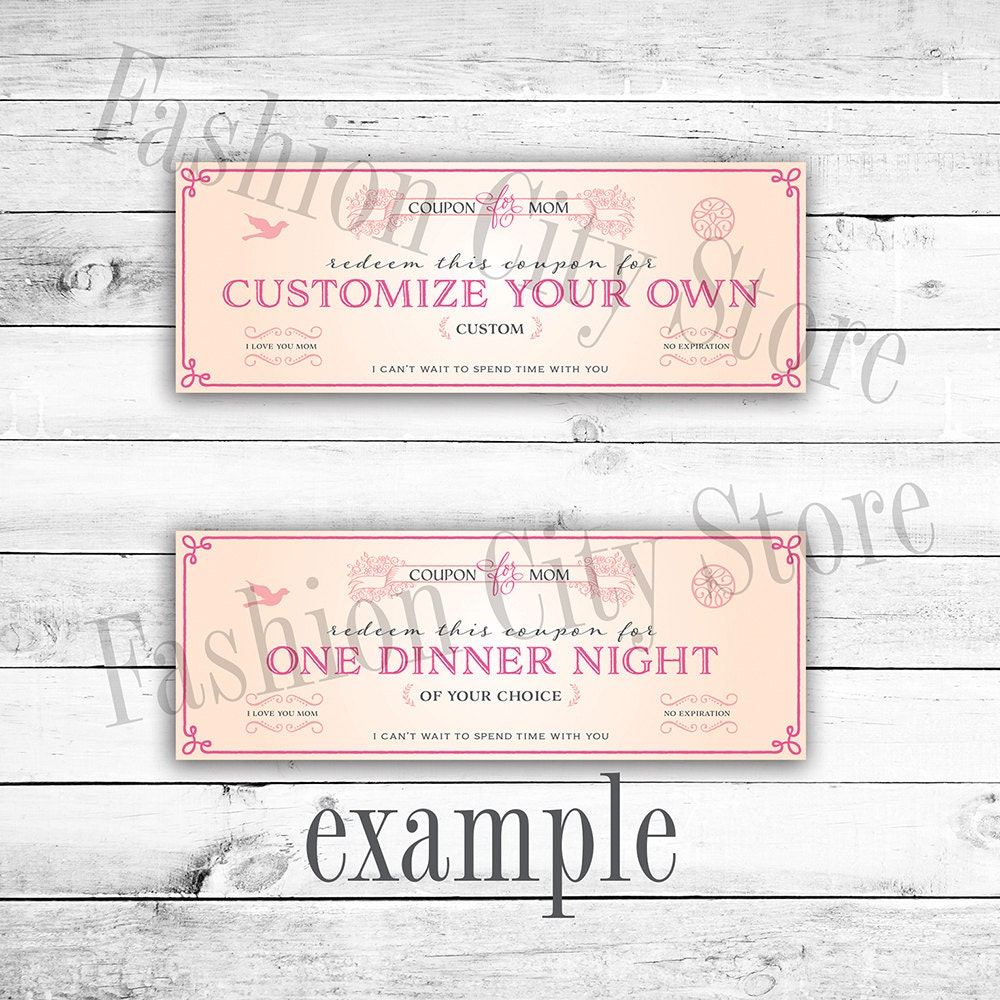 It's just a photo of Sweet Printable Custom Coupons