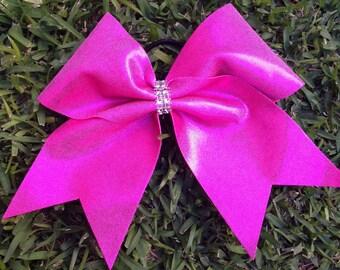 Pink Metallic Bow
