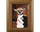 Dog Magnet, Napoleon, Chihuahua, Refrigerator Magnet