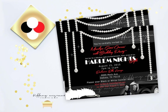 Harlem Nights And Pearl Elegance