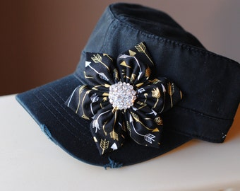 Womens Hats, womens gifts,womens Cadet Hats, womens Trucker hats, womens Bling hats, womens Shabby Chic Hats, womens Distressed hats, arrows