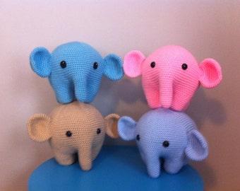 Kawaii Baby Elephant, Soft Plush Elephant Doll of Your Dreams