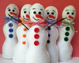 Standing Snowman Decoration