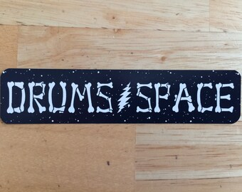 new - Drums Space vinyl Sticker - Grateful Dead Phish rhythm devils shakedown street Lot sticker