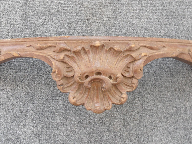 vintage carved wood salvage trim piece 35