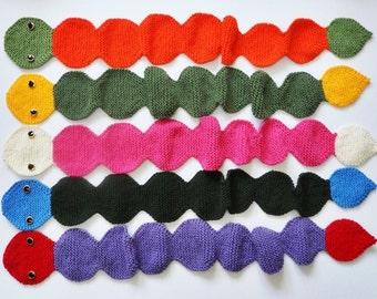 Knit / Caterpillar Scarf